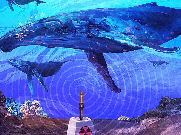 El sistema de alerta nuclear que descubrió el refugio secreto de las ballenas